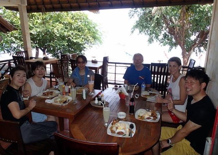 バリ島の食事
