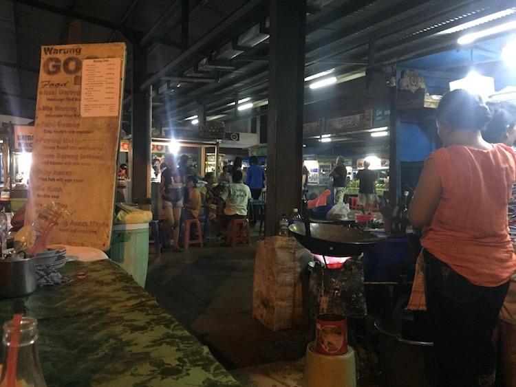 バリ島のナイトマーケット