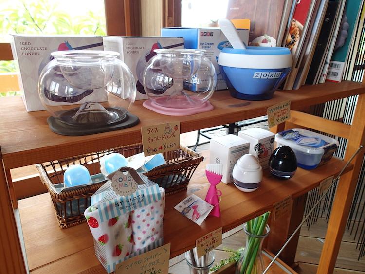 石垣島の琉球スイーツ庵の雑貨