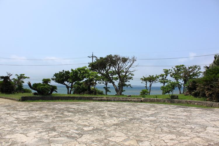 石垣島「唐人墓」の見晴らし
