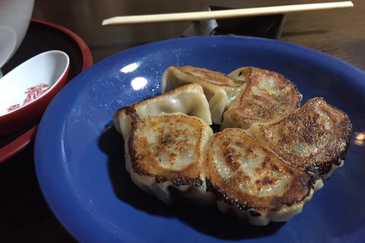 石垣島のラーメン屋「げんき食堂」の餃子