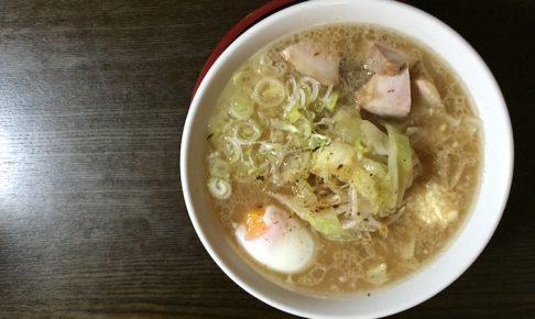 石垣島のラーメン屋「げんき食堂」のラーメン