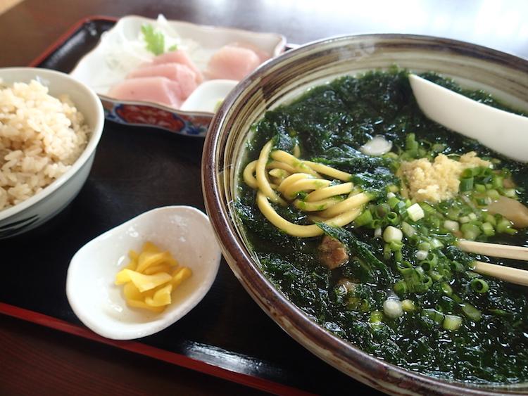石垣島 のりば食堂のアーサ