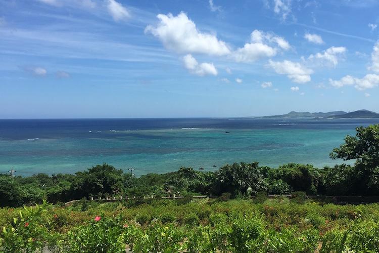 石垣島の玉取展望台からの景色