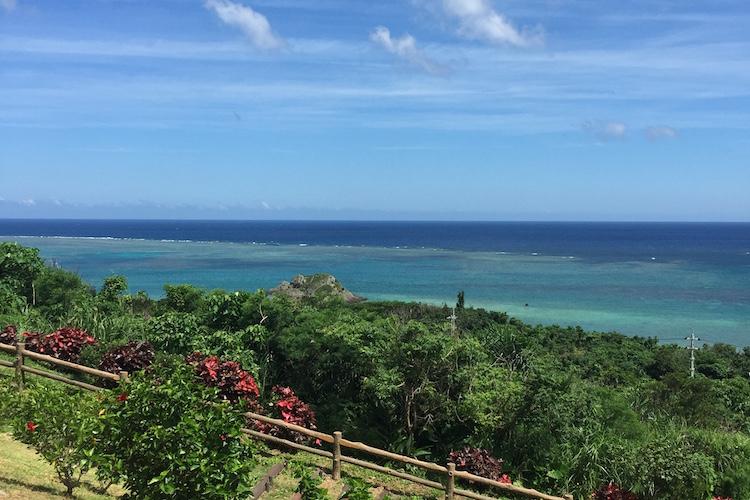 石垣島「玉取展望台」からの風景