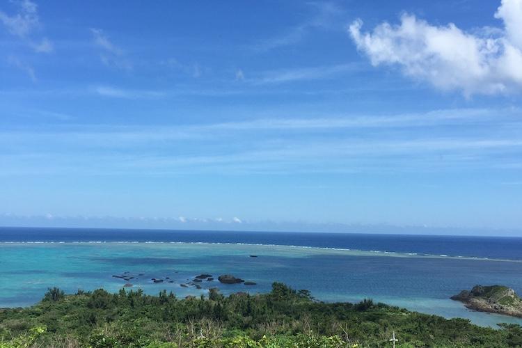石垣島「玉取展望台」の景色