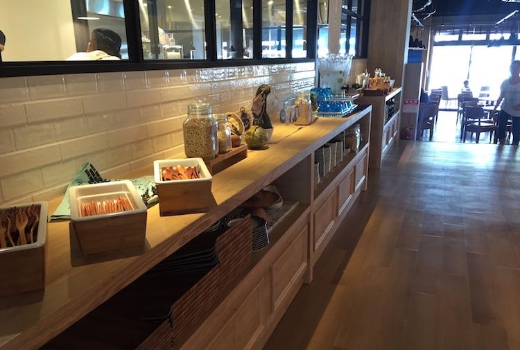 ブルーカフェ石垣島のカラトリー