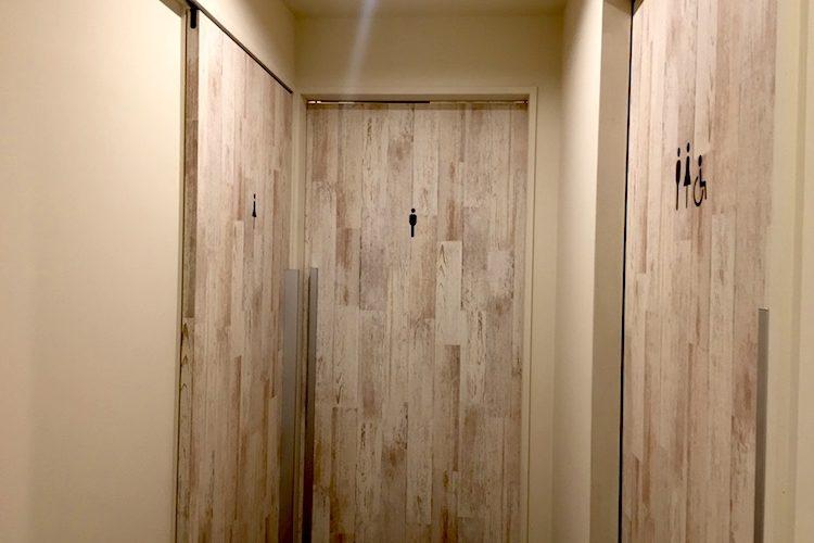 ブルーカフェ石垣島のトイレ