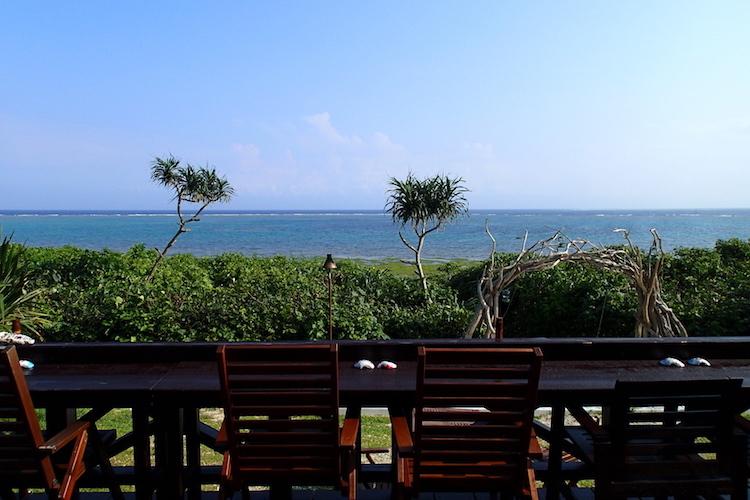 島野菜カフェ:リハロウビーチ