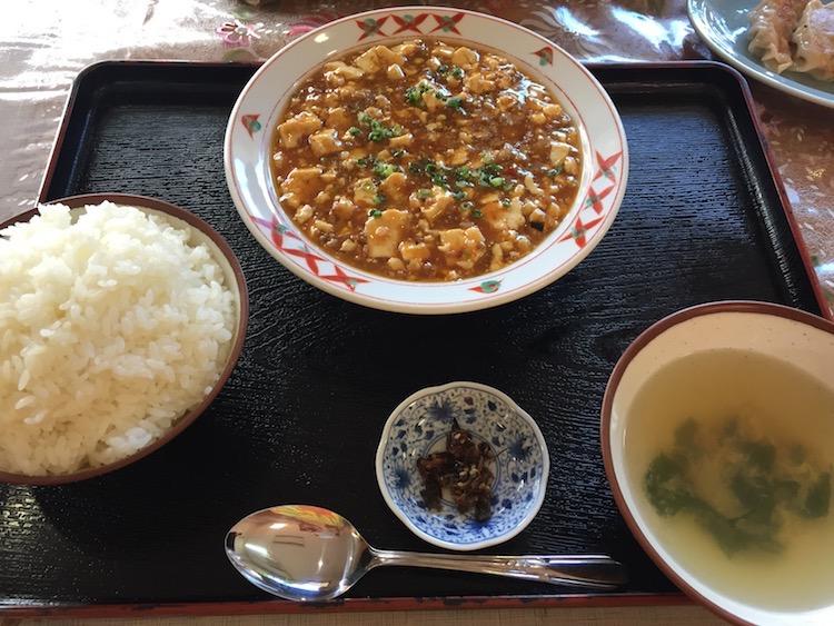 大富(おうふ)の麻婆豆腐