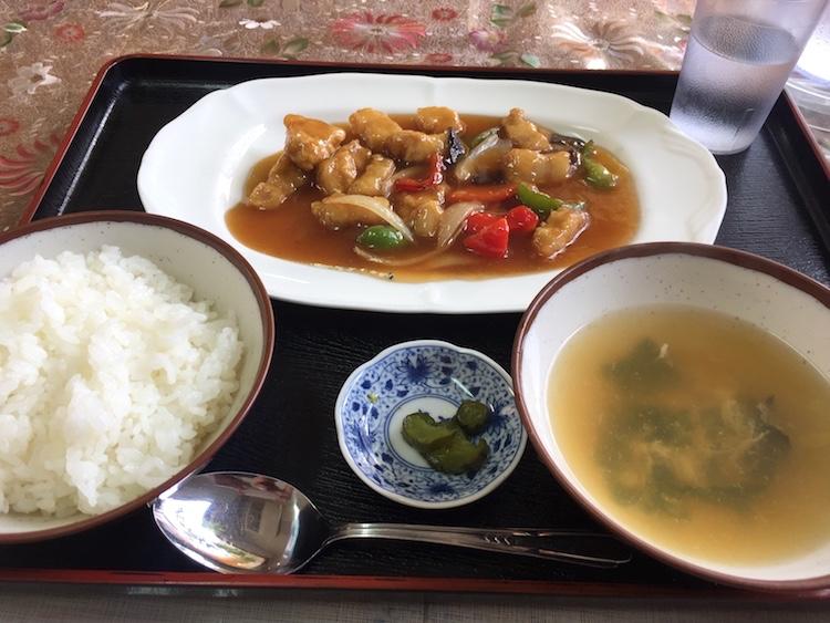 大富(おうふ)の酢豚