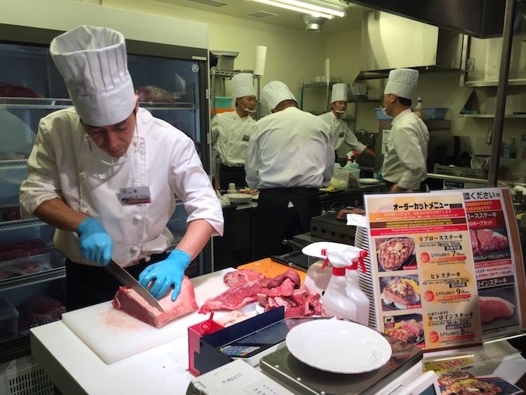 いきなりステーキ石垣島の肉