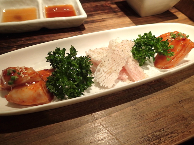 石垣島の焼肉屋「ひ嘉ちゃん」ホルモン