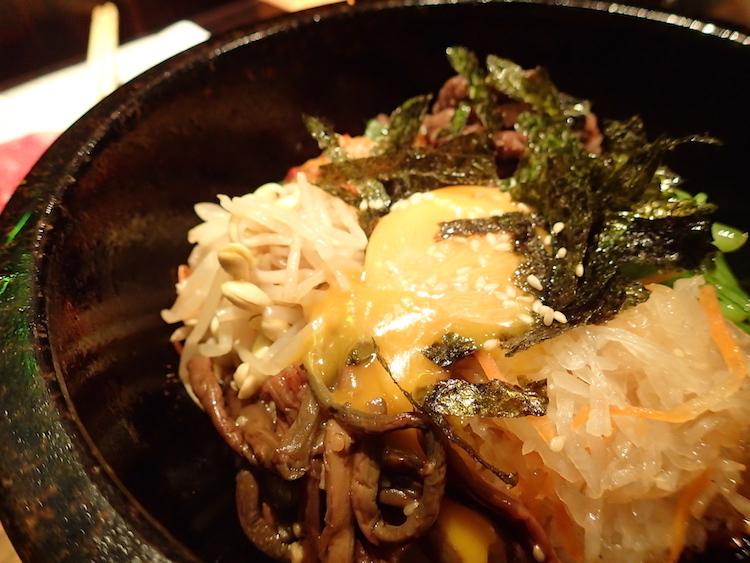 石垣島の焼肉屋「ひ嘉ちゃん」石焼ビビンバ
