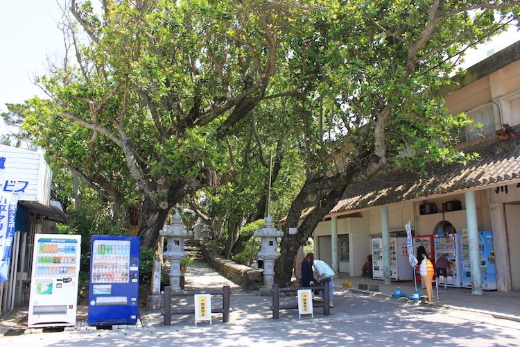 【石垣島の観光】川平湾入口