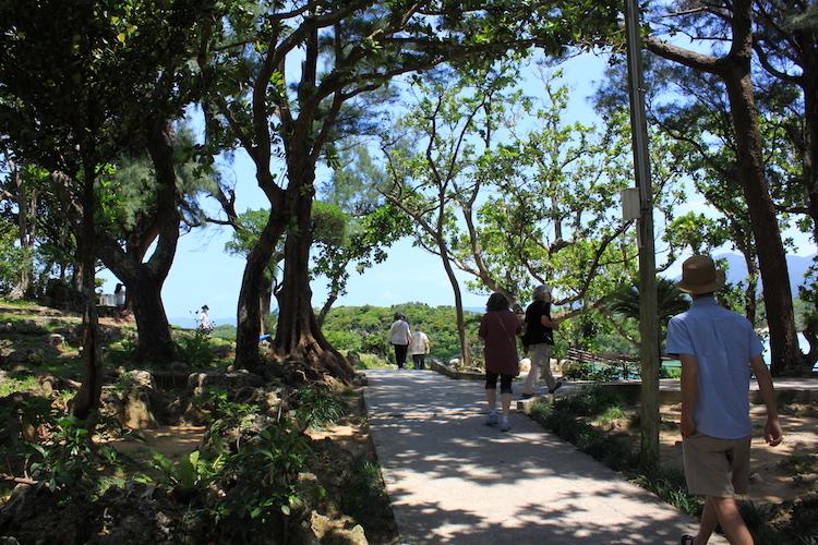【石垣島の観光】川平湾への道