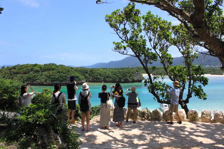【石垣島の観光】川平湾の写真スポット