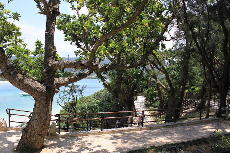 【石垣島の観光】川平湾のスロープ