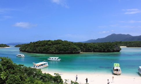 【石垣島の観光】川平湾からの眺望