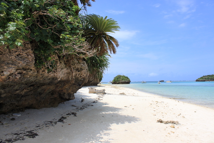 【石垣島の観光】川平湾の岩