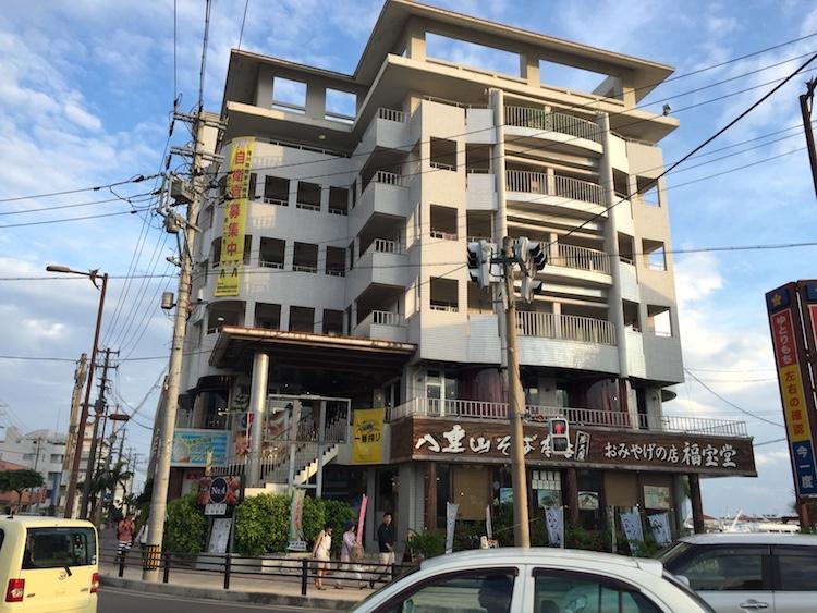 石垣島てっぺんグループNo4の外観