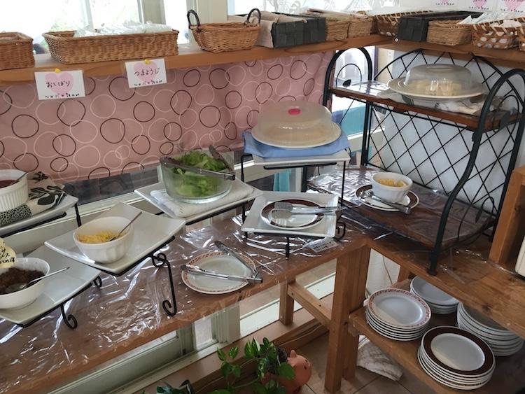 石垣島のイタリアンビュッフェ「パームズ」サラダ