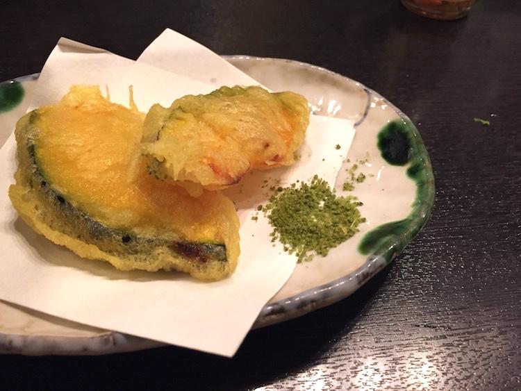 多楽製麺の天ぷら