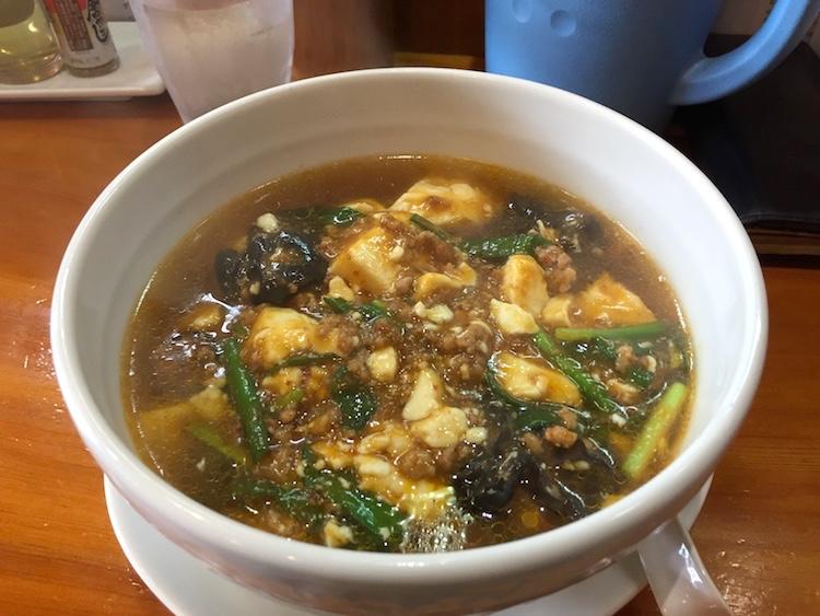 花舞空(かむあ)のマーボー麺