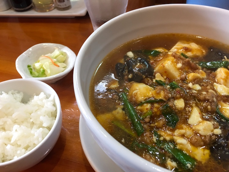 石垣島の花舞空(かむあ)で、めっちゃ美味い麻婆豆腐を発見した!