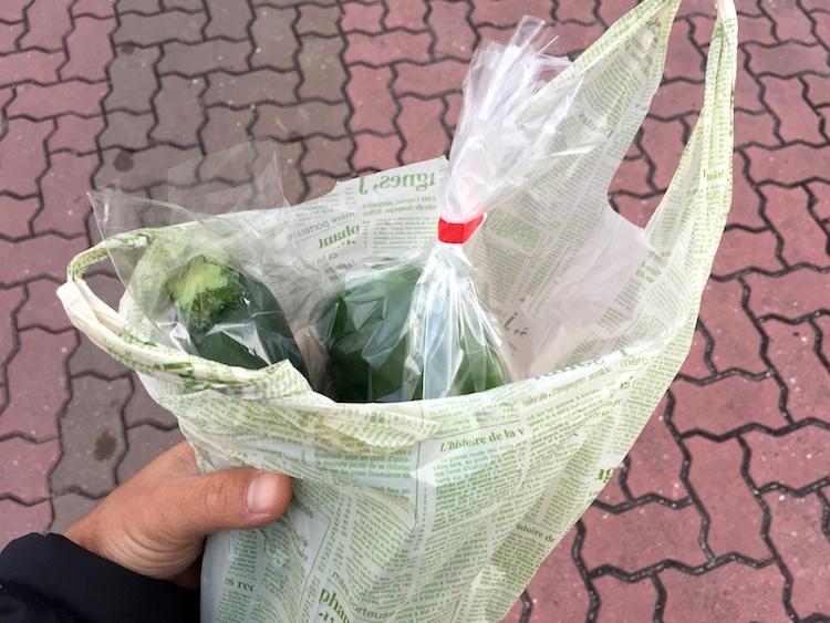 石垣島の離島ターミナルの島野菜