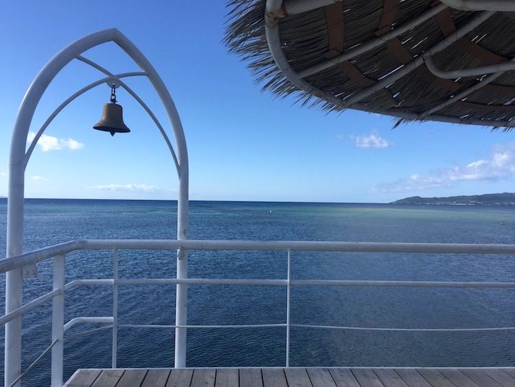 フサキビーチの幸せの鐘