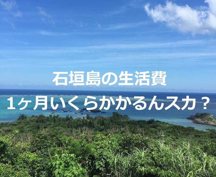 【一人暮らし】石垣島での生活費を大公開!2017年2月