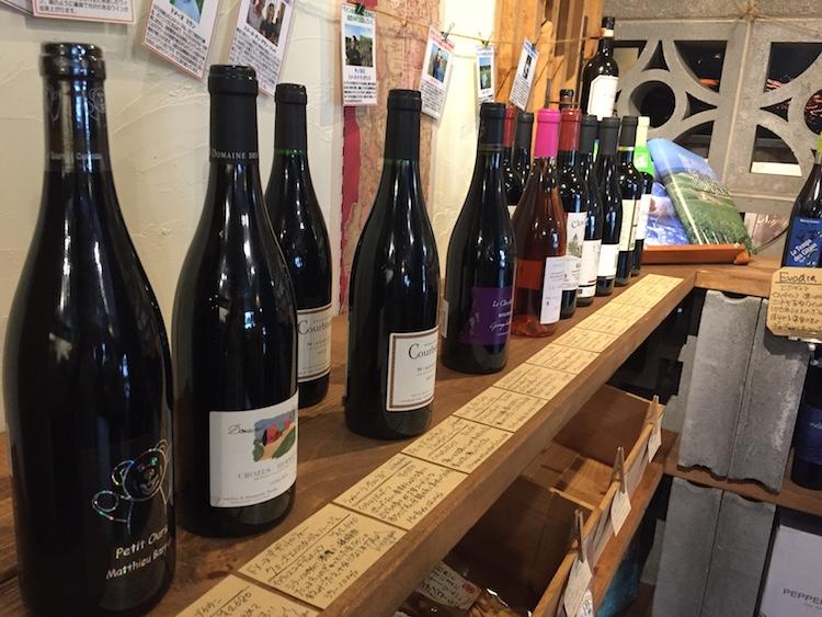 ワイン専門店るすたのワイン