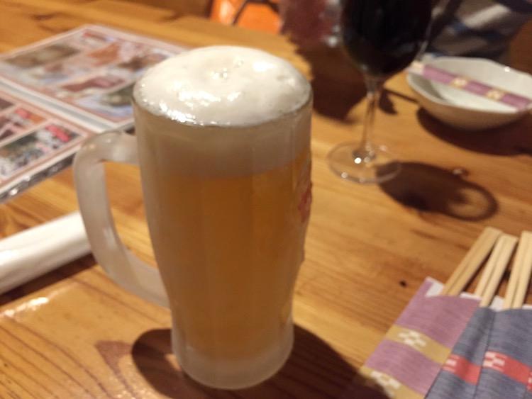 ぶーやーの生ビール