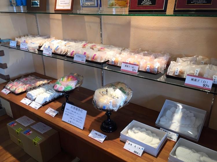 お菓子のマルシェの和菓子