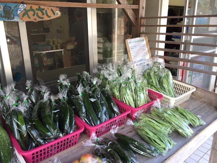 狩俣ストアの100円野菜