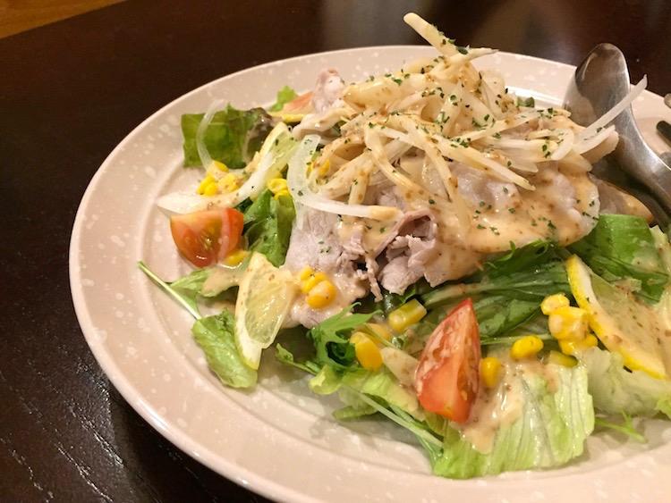 ぶんじのサラダ