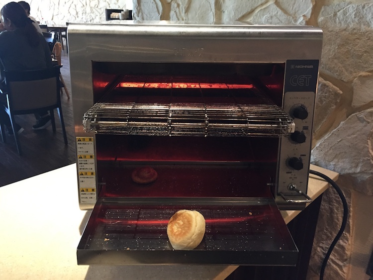 【ANAインターコンチネンタル石垣】ビュッフェのトースター