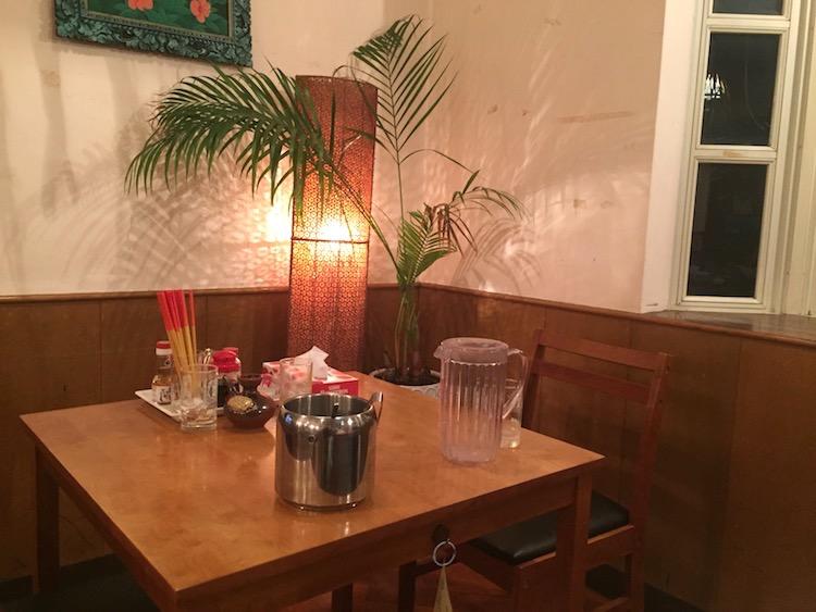 Sanufa(サヌファ)のテーブル席