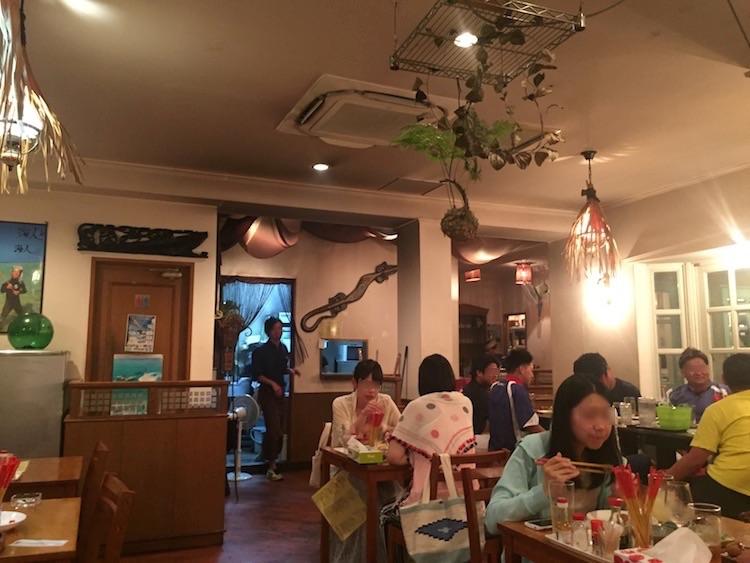 Sanufa(サヌファ)の店内