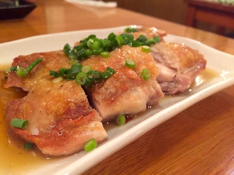 Sanufa(サヌファ)の鶏肉のネギ柚子胡椒ソース