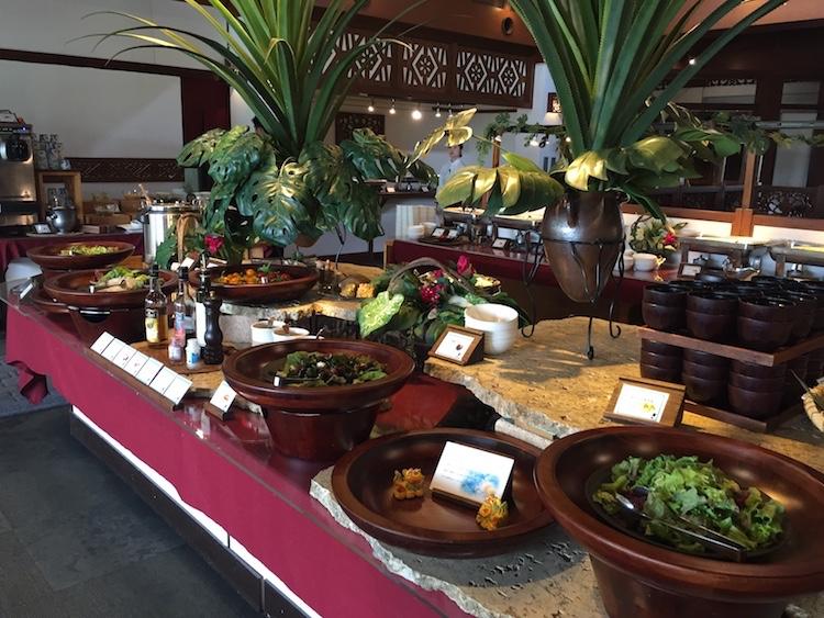 ニラカナイ小浜島の朝食