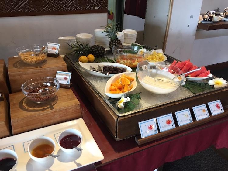 ニラカナイ小浜島の朝食デザート