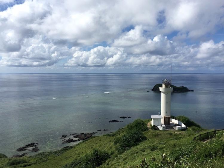 平久保崎灯台山頂からの眺め