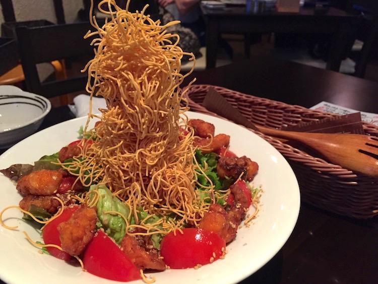 虹ノ介の巨塔サラダ