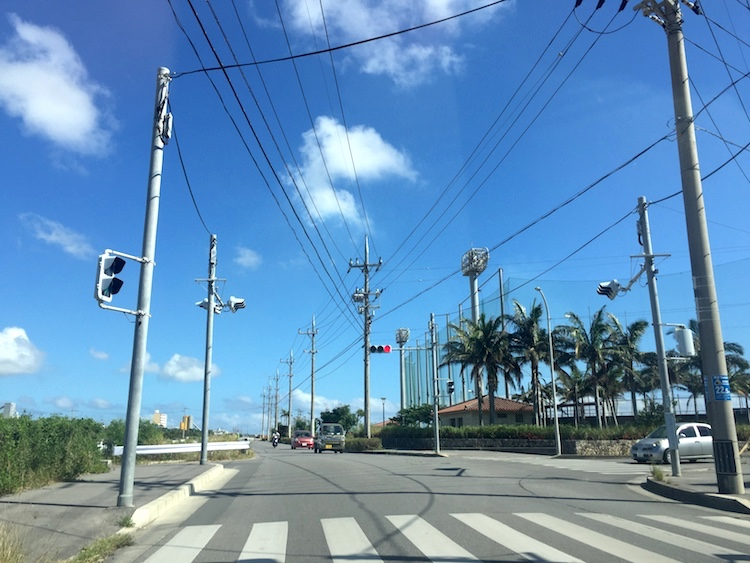 石垣島の道路