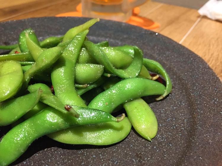 肉バルさく良の枝豆
