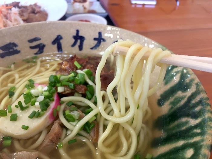 ニライカナイの麺