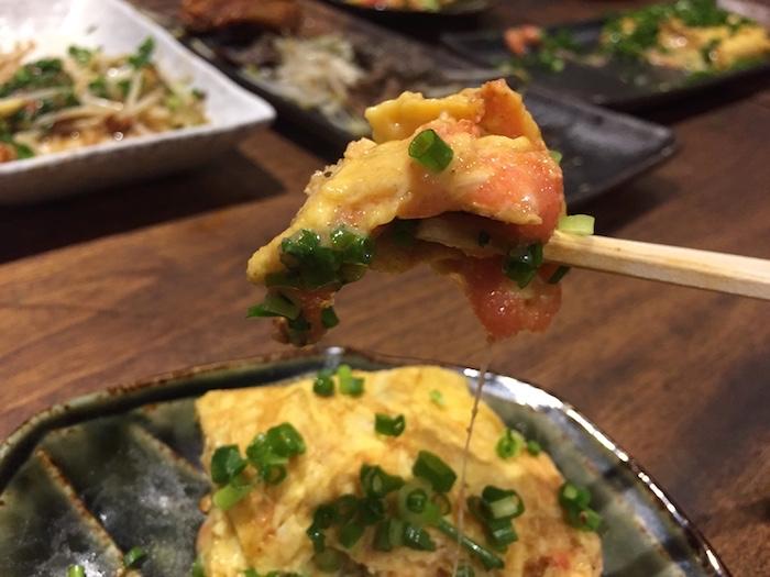 明太子チーズ卵焼き