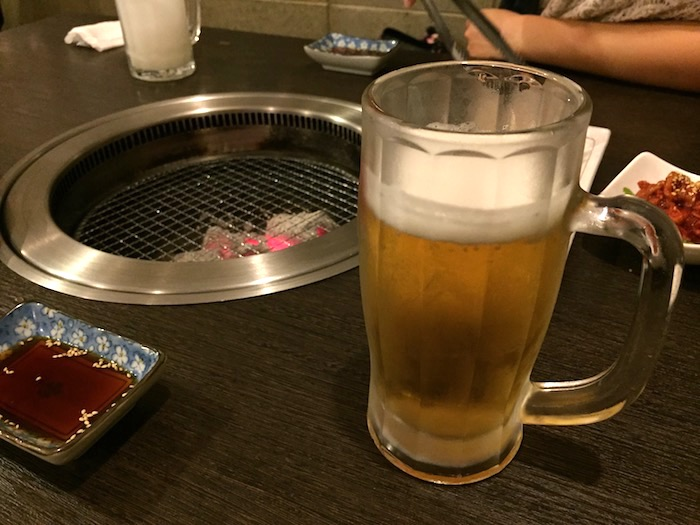 山ちゃんの部屋のビール